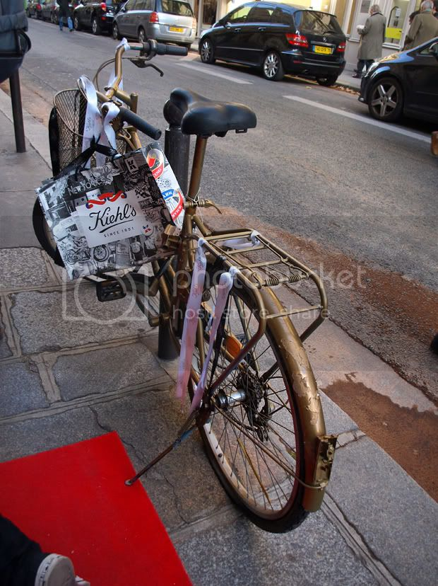 Kiehl's bike